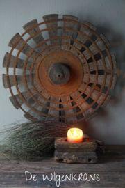 Oud houten spinnenwiel waaier Home Appliances, Rustic Industrial, Home, Industrial, Table Fan, New Homes