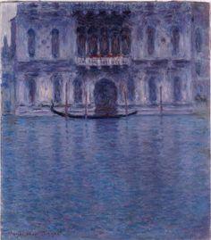Palazzo Contarini in Venice, 1908 by Monet