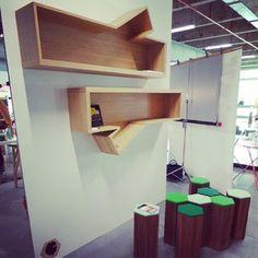 Talking shelves? from Paris Design Week 2013