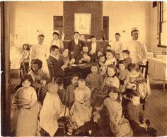 Patients at Boston City Hospital, circa 1890-1900, Boston City Hospital records, (Collection #7020.001) Boston City Archives This work is in the public domain. Please attribute to Boston City Archives. For more images from this collection, click here
