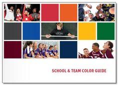 School & Team Color Guide