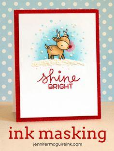 Ink Masking Video by Jennifer McGuire Ink