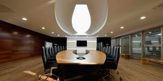 Sala de Reuniones. Reforma integral HIMOINSA Headquarters - Arquitania Business
