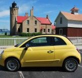 TEST DRIVE: Inhabitat Takes a Summery Yellow Fiat 500 For a Spin | Inhabitat - Sustainable Design Innovation, Eco Architecture, Green Building