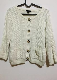 H and M kremowy sweterek biały M Asos, Zara, Fashion, Moda, Fashion Styles, Fashion Illustrations