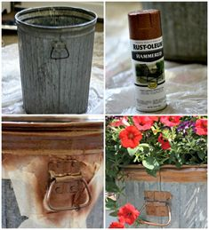 hammered copper spray paint ... such a great look