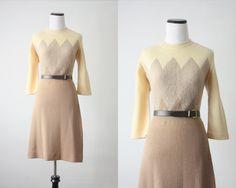 1960s bergdorf sweater dress