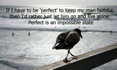 Perfect is an Impossible State