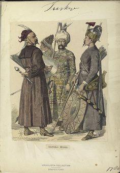 C 1530 Niklas Stoer Turkish Archer The Print Run Of