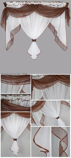 Window Treatments for Your Girl's Bedroom Curtains And Draperies, Elegant Curtains, Home Curtains, Kids Curtains, Kitchen Curtains, Drapery, Curtain Inspiration, Curtain Designs, Home Room Design