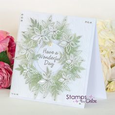 Stamps By Chloe - Blossoming Foliage Chloes Creative Cards, Stamps By Chloe, Christmas Cards, Xmas, Anna Griffin, New Theme, Pretty Cards, Birthday Cards, Projects To Try