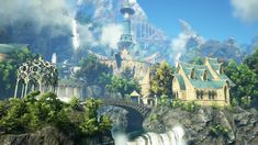 Dark and Light: Exploring the Elven City of Estel We run through Estel the main city of the Elves in Snail Games new Light in the dark Elven city New fantasy