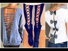 DIY Clothes Life Hacks - 20  DIY Ideas Every Girl Should Know Christmas 2016 2017 - YouTube