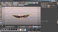 Butterfly cinema 4d Cinema 4d Tutorial, 3d Tutorial, Cgi, Butterfly, Tutorials, Animation, Animation Movies, Butterflies, Motion Design
