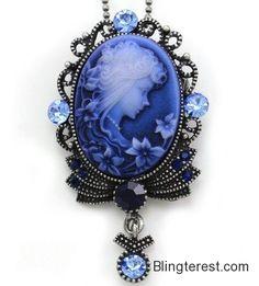 Dark Navy Blue Cameo #Pendant #Necklace Vintage Style Retro Charm Antique Bronze Brass Blue Stone Rhinestones Oval Ladies Women Fashion #Jewelry #Jewelry http://blingterest.com/pendants/fashion-pendants/dark-navy-blue-cameo-pendant-necklace-vintage-style-retro-charm-antique-bronze-brass-blue-stone-rhinestones-oval-ladies-women-fashion-jewelry-jewelry/
