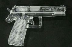 Glass gun pipe