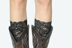 Black Boot Lace Cuff by RuralHaze on Etsy, $11.95