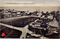 Jarosławiec pocztówka bez obiegu niedatowana - Ostseebad Jershöft, Blick vom Leuchtturm auf Jershöft. WYDAWNICTWO: Albert Mewes Rugenwalde 586
