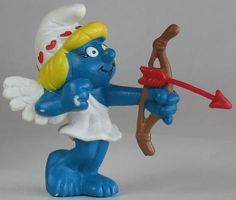 I always new I liked smurfette the most. She is one of us....lol