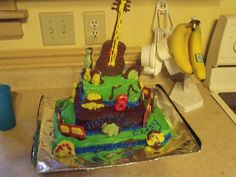 Aidens 8th birthday cake