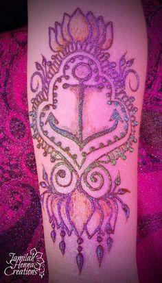 anchor lotus henna www.jamilahhennacreations.com