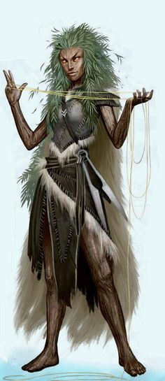 can be used to help locating treasures n breeding while together on road; Divine Guardian Norn - Vigliv - Pathfinder PFRPG DND D&D ed fantasy Forest Creatures, Fantasy Creatures, Mythical Creatures, Fantasy Character Design, Character Concept, Character Art, Dnd Characters, Fantasy Characters, Fantasy Races