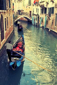 Dreaming of gondolas in Venice
