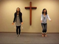 2010 Kids club worship dance - Praise him something fun and simple for my little ones!!