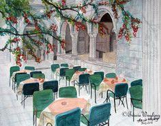 Street Life pt 5 - gouache/watercolour