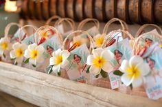Tropical favor bags from a Moana Inspired Birthday Party on Kara's Party Ideas | http://KarasPartyIdeas.com (6)