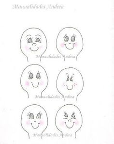 Minha Vida Emborrachada: Mais modelos de olhos para EVA! *****PARTE 2****** Doll Eyes, Doll Face, Stick Figures, Album, Learn To Draw, Diagram, Scrapbook, Sewing, Drawings