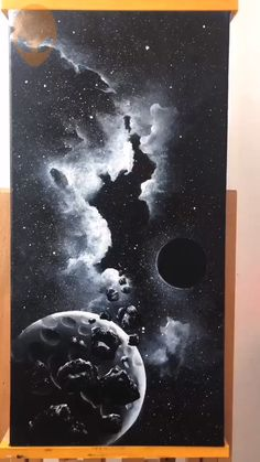 Beautiful Starry Sky Painting - Acrylic Painting Ideas - Painting Tutorials Videos Part 3 Painting Tutorial, Art Painting, Sky Painting, Amazing Art Painting, Oil Painting, Art Painting Acrylic, Painting Art Projects, Diy Canvas Art, Acrylic Painting Canvas