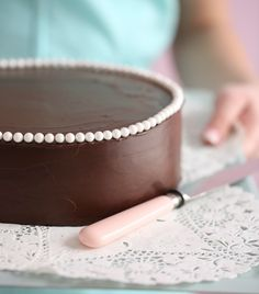 Recipe for moist chocolate cake by @passion4baking