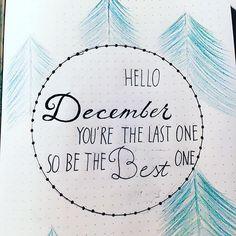 My start for december I'm ready! ••••••••••••••••••••••••••••••••••••••••••••••••• #bulletjournal #fineliner #coloredpencils #christmas #christmasspread #bulletjournaljunkies #christmastree #newmonth #december #lastmonth