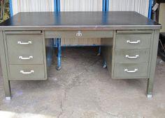 Tanker Desk Office desk General Fireproofing by oldgoatandhorse, $350.00