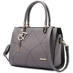 X-Online 042917 hot sale lady fashion tote female top-handles bag Chanel Handbags, Tote Handbags, Purses And Handbags, Luxury Handbags, Grey Handbags, Tote Bags Online, Trendy Purses, Shoulder Handbags, Shoulder Bags