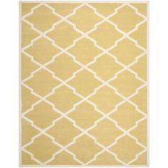 Safavieh Chatham Light Gold/Ivory 8 ft. x 10 ft. Area Rug at Home Depot
