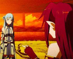 Sword Art Online II Yuuki Asuna and Konno Yuuki Mother's Rosario Arc
