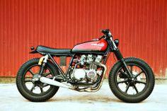 Kawasaki kz650 bratstyle from BSMC