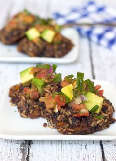 Black Bean and Brown Rice Patties on http://www.homemadelevity.com/black-bean-and-brown-rice-patties/