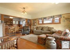 Craftsman home interior