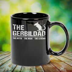 The Gerbil Dad The Myth The Man The Legend great gift for yourself gerbil lovers, family, friends or any men, women who loves gerbil. - get yours by clicking the link in my profile bio. Pitbull Dog Photos, Doberman Pinscher Dog, Doberman Love, Gerbil, Ferret, Love French, Dachshund Love, Cute Little Animals, Cute Animal Pictures