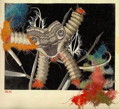 #Hoch - Hannah Hoch Picturebook (1945). Der Unzufriedel by arthurvankruining, via Flickr