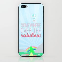 somewhere over the rainbow.. iPhone & iPod Skin by studiomarshallarts - $15.00