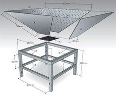 make diy portable steel fire pit or bowl