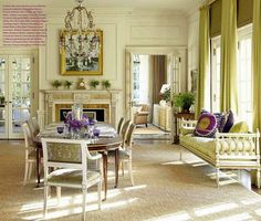 Like the molding around the fireplace and crown molding.