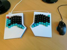Diverge II with PuLSE SA Keycaps