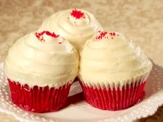 Red Velvet Cupcakes from FoodNetwork.com