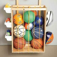 Small Garage Storage Ideas You Can DIY | Family Handyman Garage Storage Units, Garage Organisation, Overhead Garage Storage, Garage Storage Solutions, Organization Hacks, Storage Ideas, Organizing Tips, Easy Storage, Ceiling Storage Rack