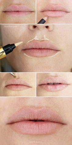 Kylie Jenner har med sin utrolige forstørrelse af læberne skabt fokus på makeuppens magi.  Diskussionen om hvorvidt hendes læber er skabt via makeup eller kosmetiske indgreb raser, men hvorom alting er, har det skabt fokus på makeup og de tricks man kan benytte sig af.  Her viser vi hvordan du med highlight kan få dine læber til at se mere fyldige ud - helt uden botox!